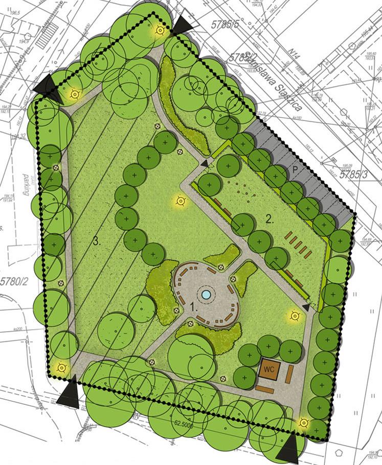 Plan zagospodarowania zieleni w Staszowie