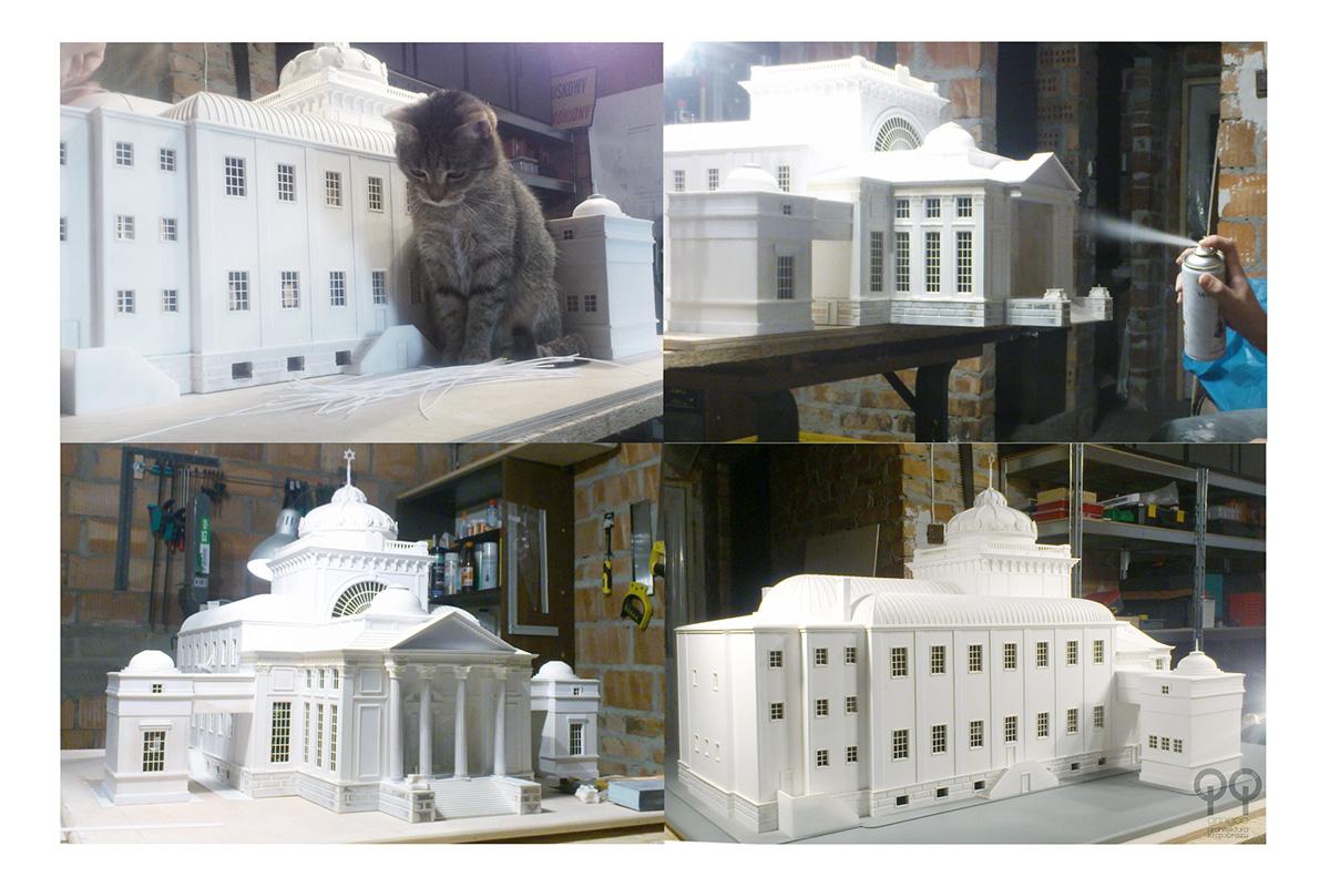 Model Synagogi Wielkiej